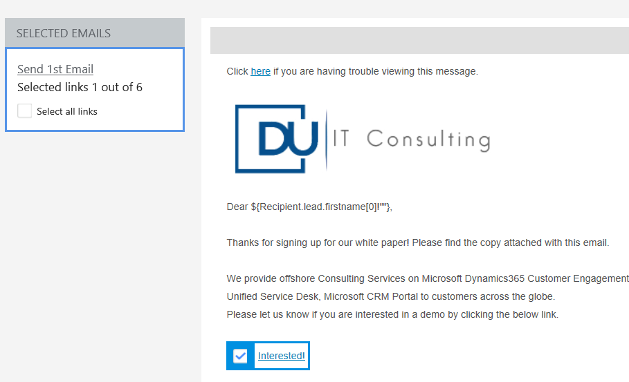 Robotic Process Automation in Email marketing – DU IT Consulting